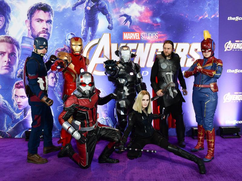 Avengers' dominates MTV awards as Larsen honours stunt