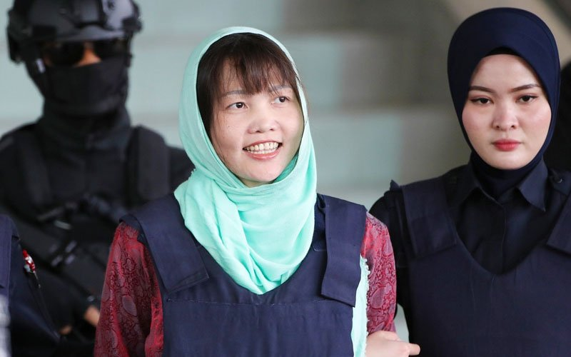 Malaysia to free woman accused of Kim Jong Nam murder