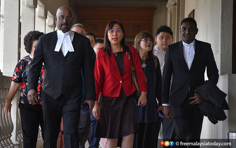 FMT-teresa-kok-suit-jamal-yunos-29042019-3 Teresa Kok gets nod to cite Malay rights group leader for contempt