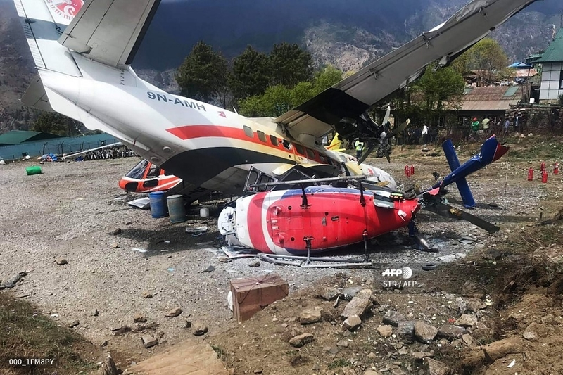 Co-pilot, 2 policemen killed in plane crash in Nepal