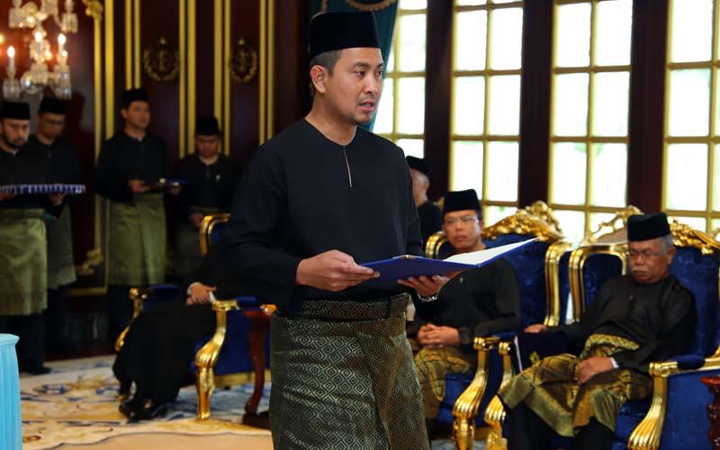 I'll do my best to bring Johor forward, says new MB Sahruddin