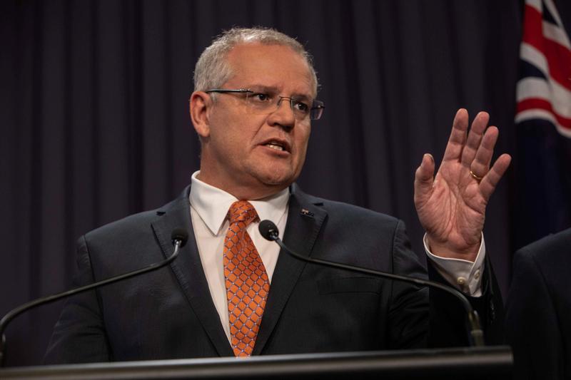 Australia PM lashes climate critics in UN speech