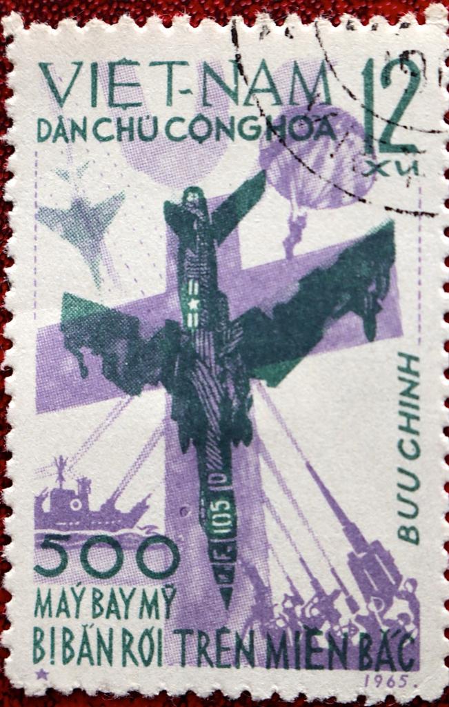 North Vietnam's propaganda stamps tell of a horrific war
