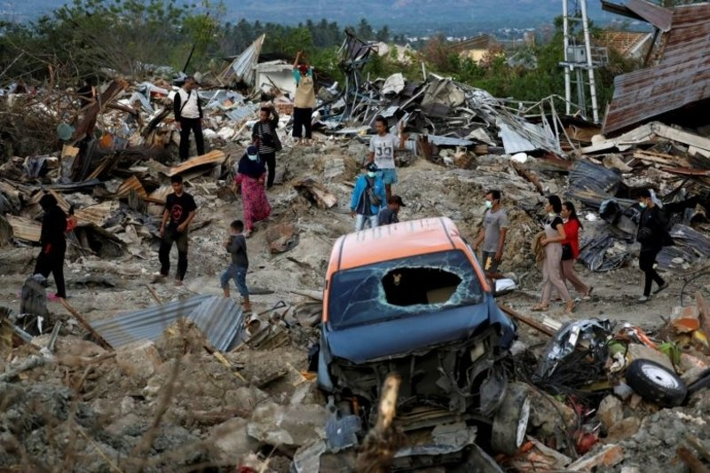 Indonesia On Alert for Tsunami