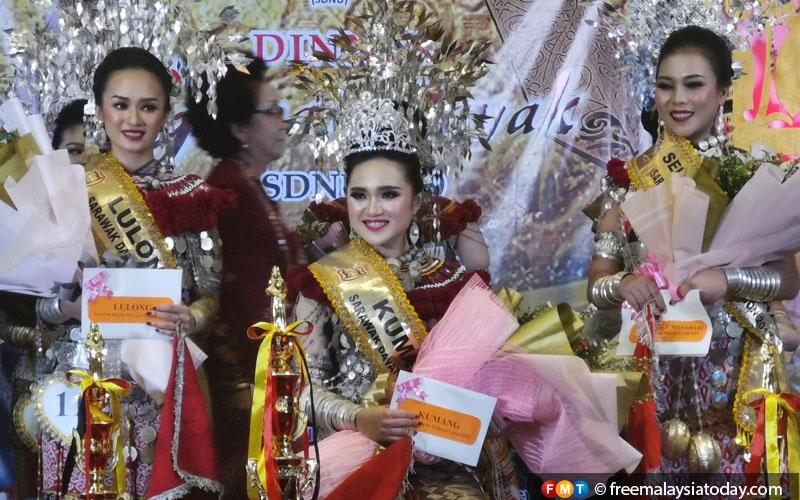 Sibu lass wins Dayak beauty contest   Free Malaysia Today