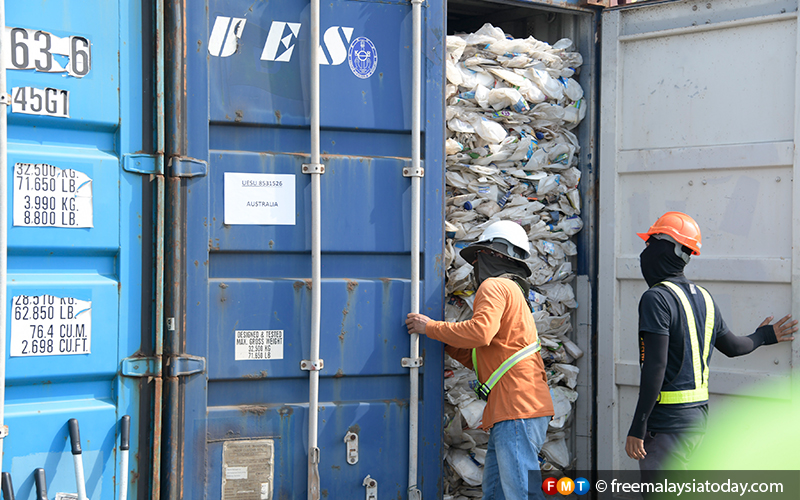 Malaysia to return plastic waste to countries including UK
