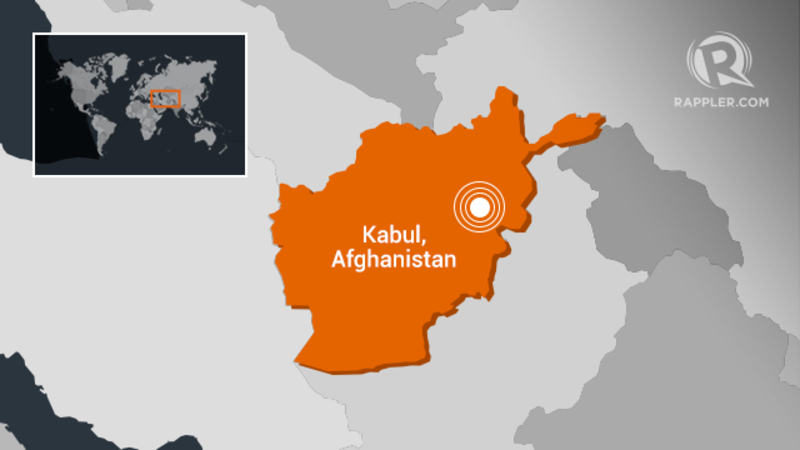 Afghan officials: Large explosion, gunfire in capital