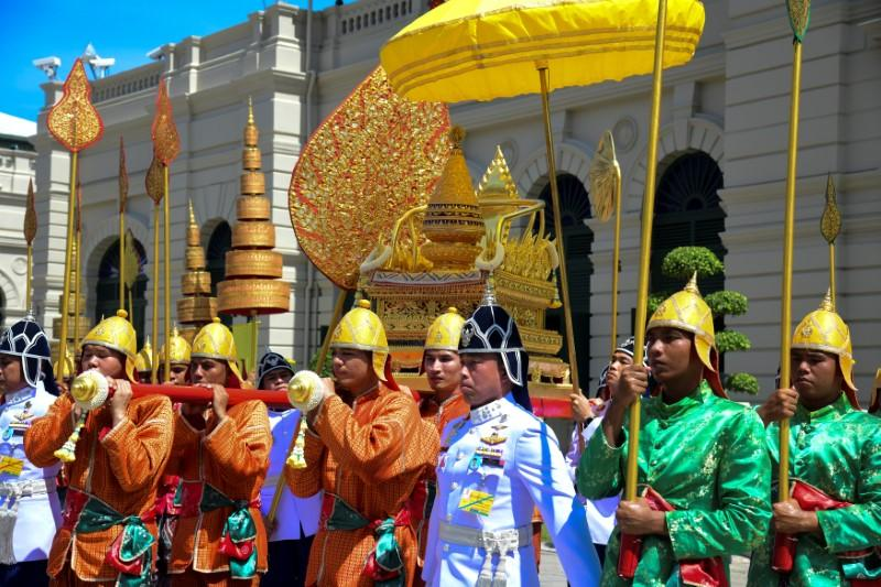 Thai King Conducts Final Rituals Before Coronation; To