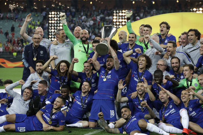 Chelsea thrash Arsenal to win Europa League | Free ...