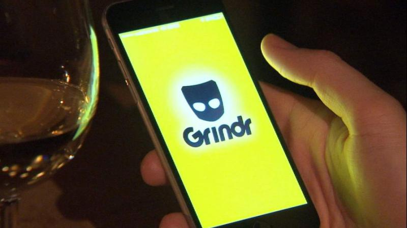 "Grindr sells itself as"" the best gay dating app and"