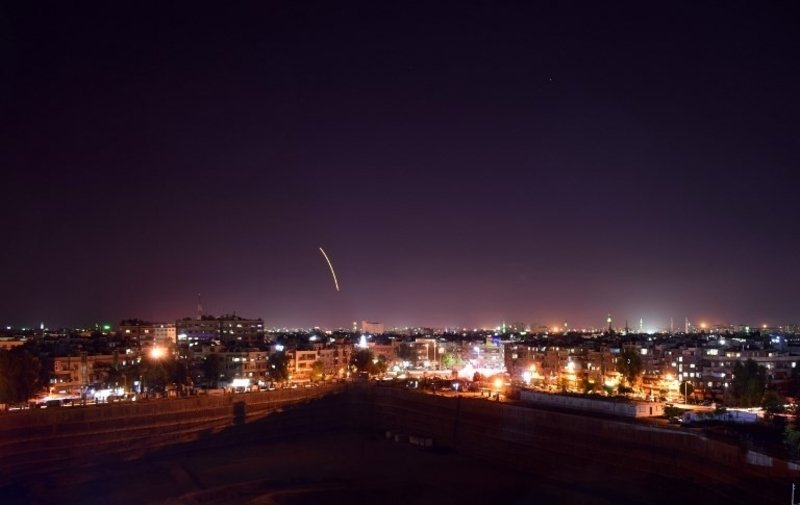 Syria Says It Confronted Israeli Attack On Iran-Backed Forces