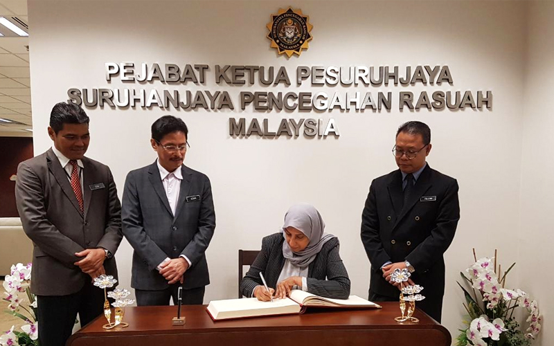 Image result for Latheefa Koya, the first female Chief Commissioner of MACC