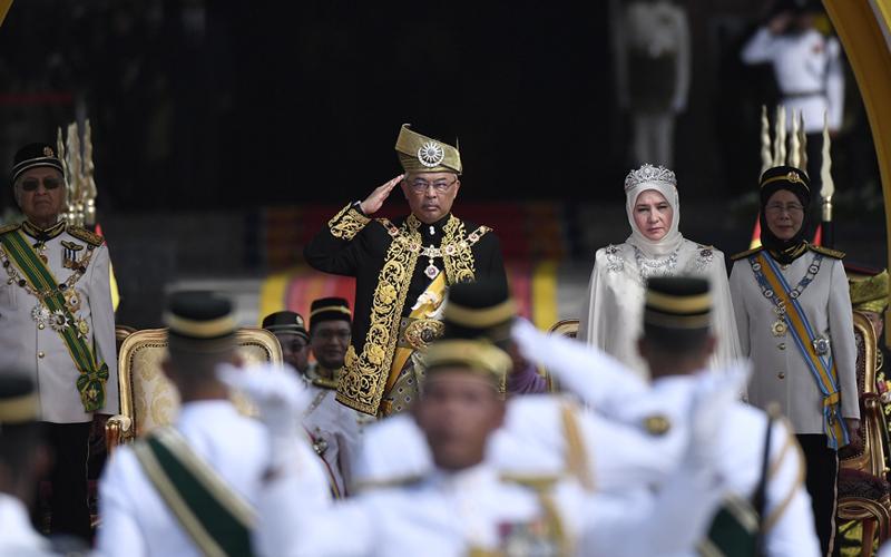 Sultan Abdullah Ditabal Sebagai Agong Ke 16 Free Malaysia Today