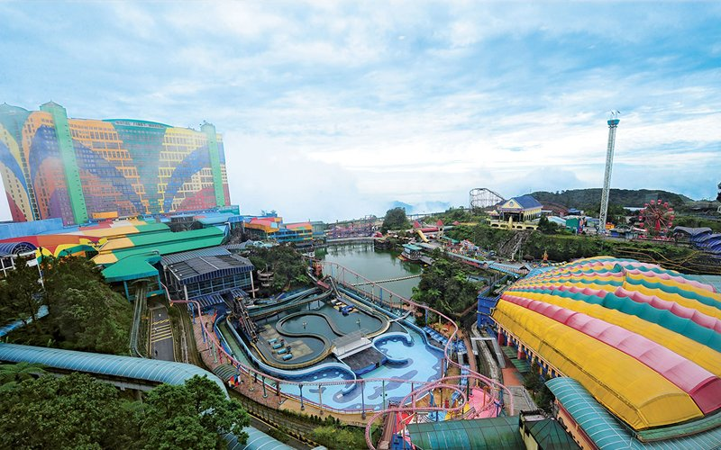 Image result for genting outdoor theme park