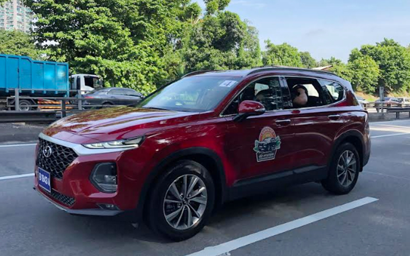 The Hyundai Santa Fe 2019 Bush Bashing Experience Free