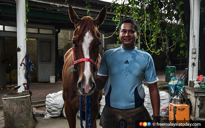 It's tedious work, but Kamal loves his job as well as the animals he cares for every day.