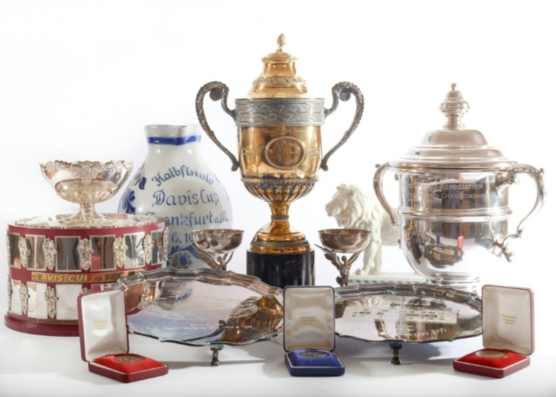 Boris Becker's memorabilia attracts bids totalling nearly  £700000 in auction
