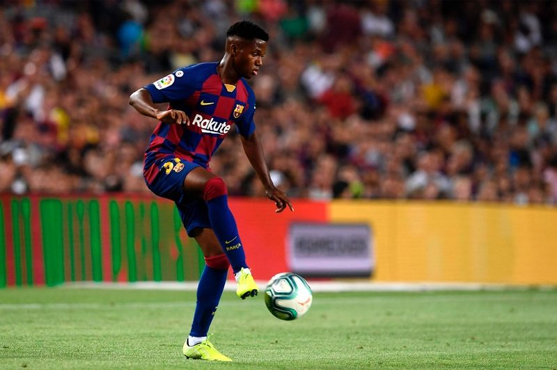 Ansu Fati Makes Barcelona History in LaLiga Debut