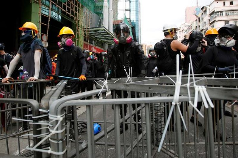 Immersed: A walk through Hong Kong's protests