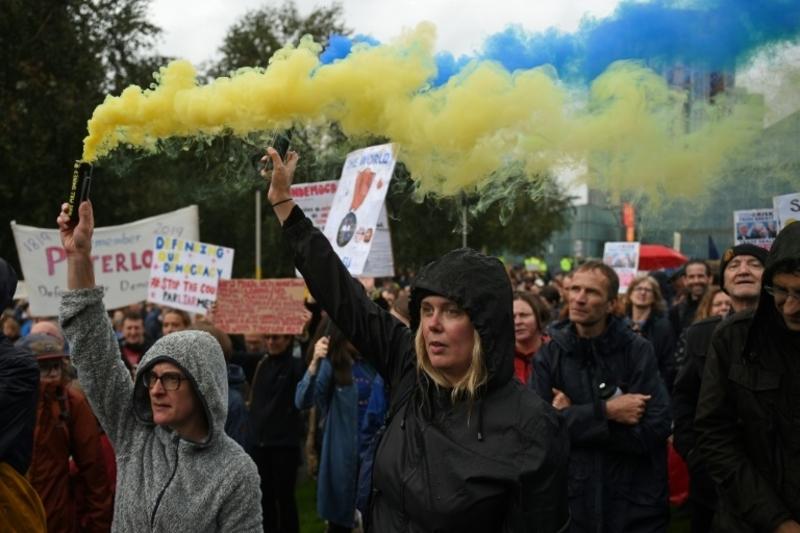 Boris Johnson's suspension of Parliament set to spark Brexit protests