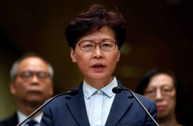 Hong Kong's Lam to declare scrapping of extradition bill