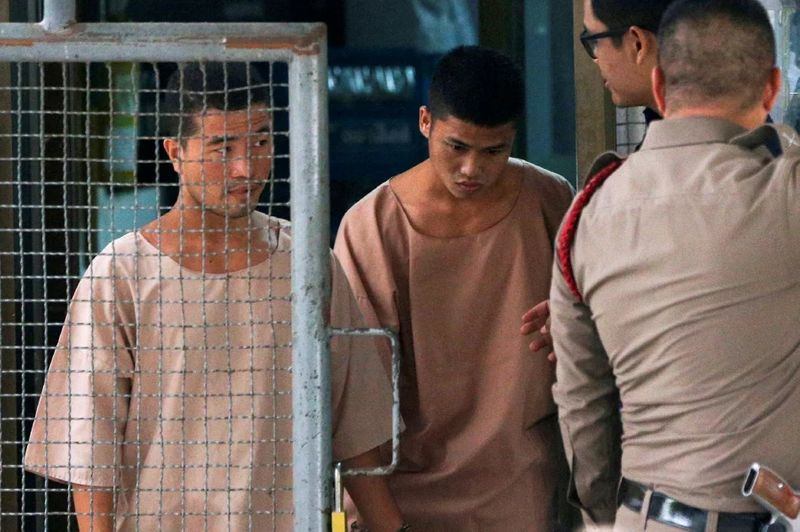 Myanmar workers' death penalty upheld for Thai murders