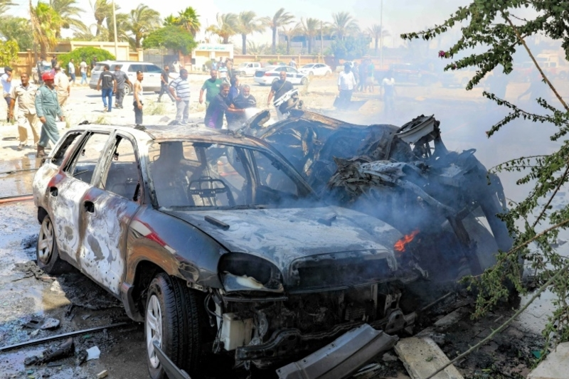 Rocket fire kills 5 civilians in Libya capital