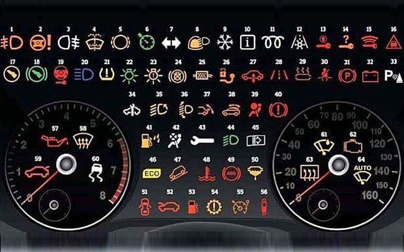 Simbol Pada Meter Kereta Myvi Baru