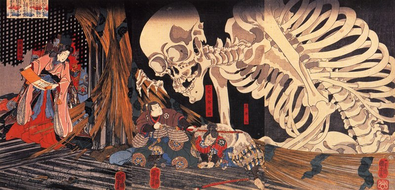 7 ghastly grotesque ghosts of Asia
