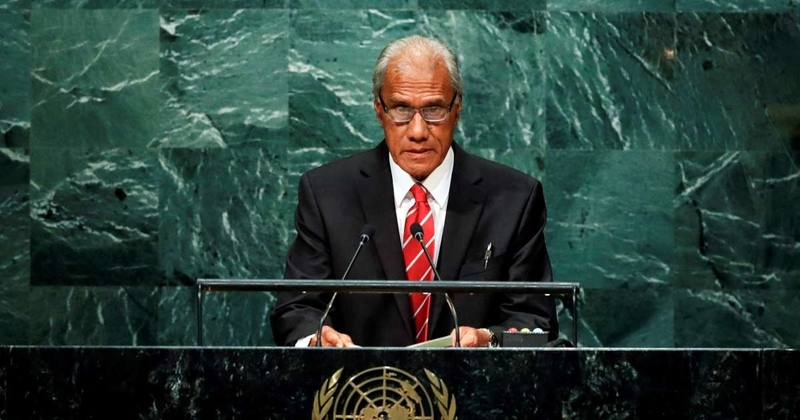 Tongan Prime Minister `Akilisi Pohiva dies aged 78