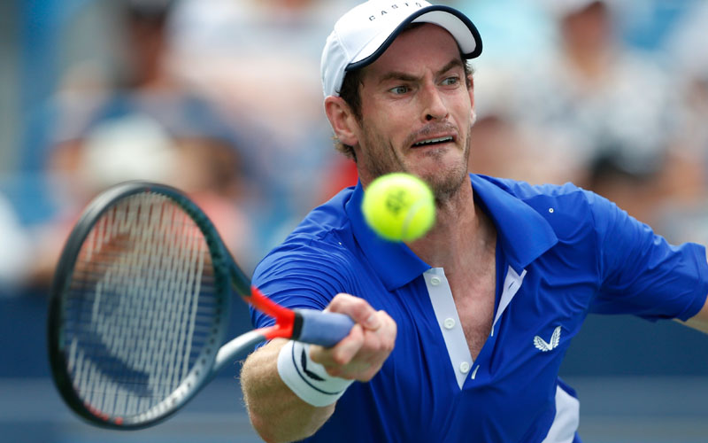 Murray wins 1st tour-level match since January
