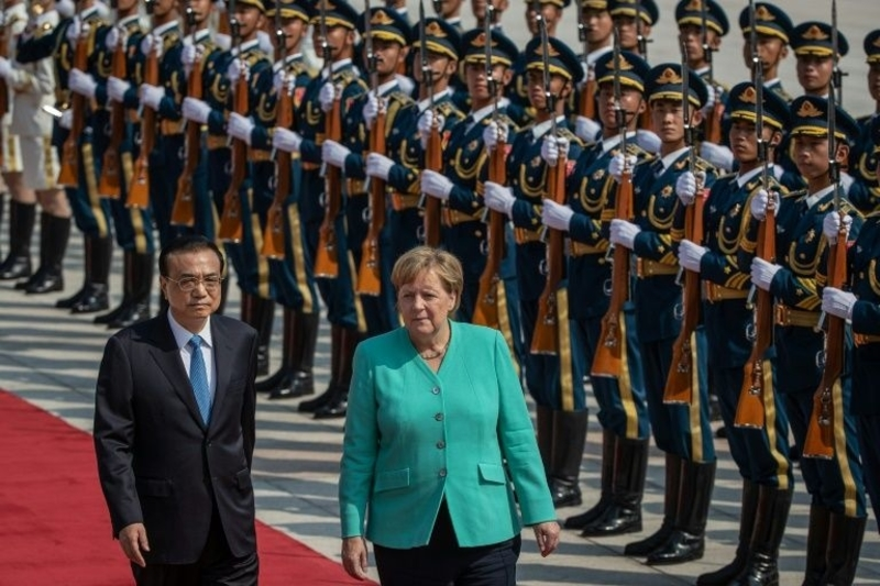 German Chancellor Angela Merkel says Hong Kong freedoms must be 'guaranteed'