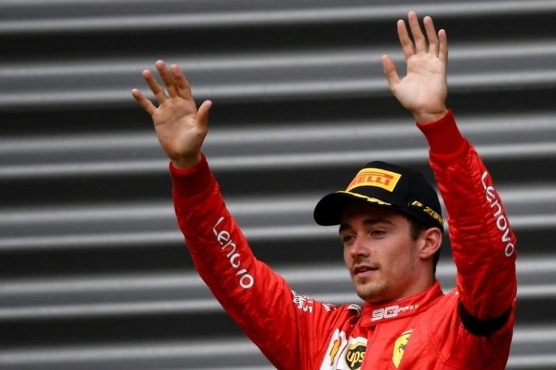 Ferrari driver Leclerc wins Belgian GP in solemn atmosphere