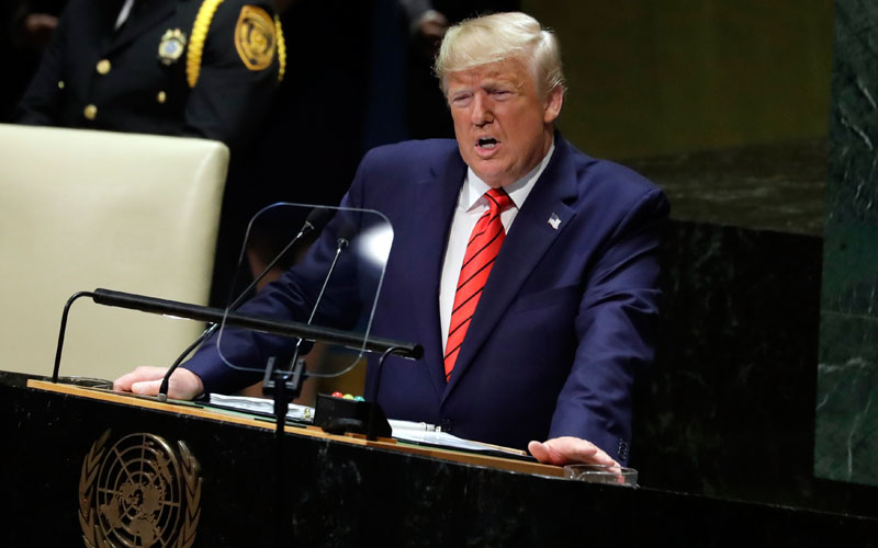 President Trump To Address U.N. General Assembly