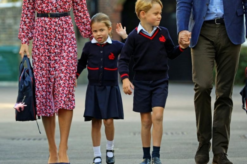 Princess Charlotte will go by a new name at school