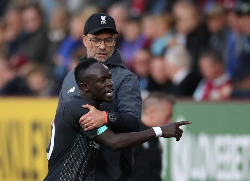 Salah laughs off Mane outburst