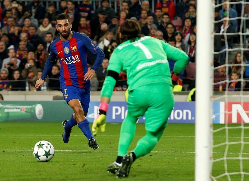 Barcelona's Turan sentenced for nightclub fight