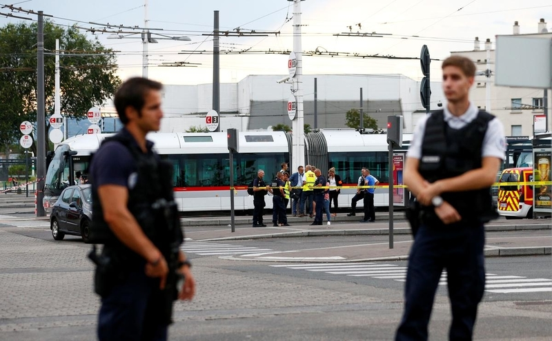 At least 10 people stabbed by two men in Villeurbanne, France
