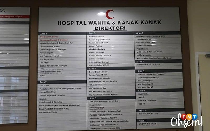 Hospital Bersalin Kl Henti Operasi Terima Kasih Doktor Jururawat Atas Jasa Tidak Terbalas Free Malaysia Today