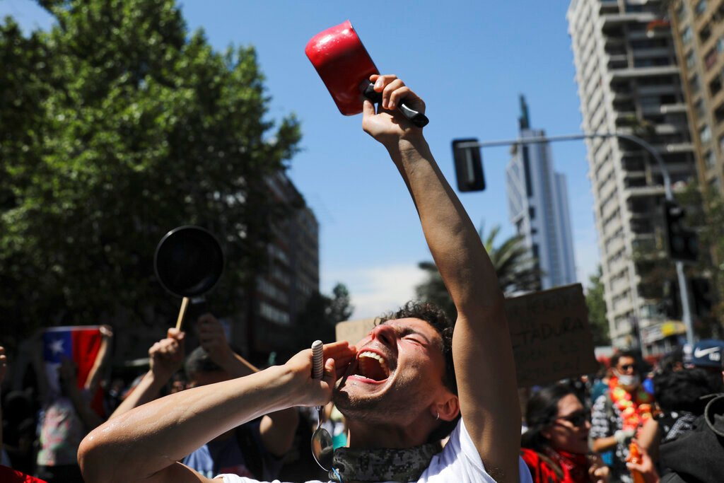 Chilean protesters say government's concessions are not enough