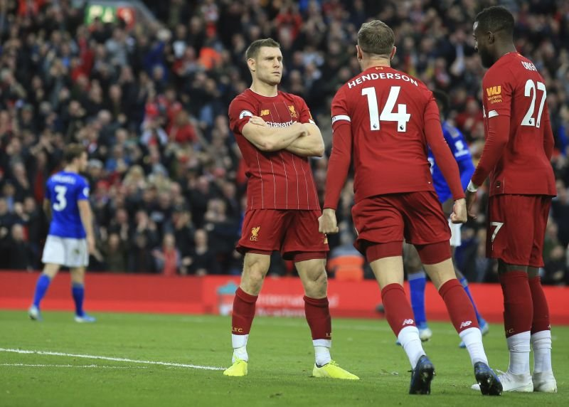 Milner sends Liverpool 8 points clear, Spurs rocked at Brighton
