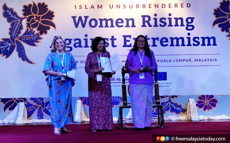 Maria Fernandez Castillo Marina Mahathir Rozana Isa Muslim Women Malaysia Fmt