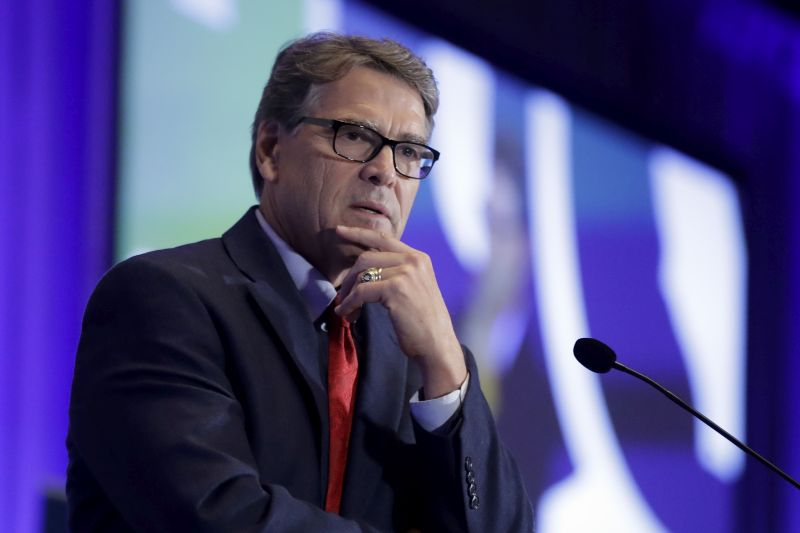 Rick Perry Stepping Down From Department of Energy