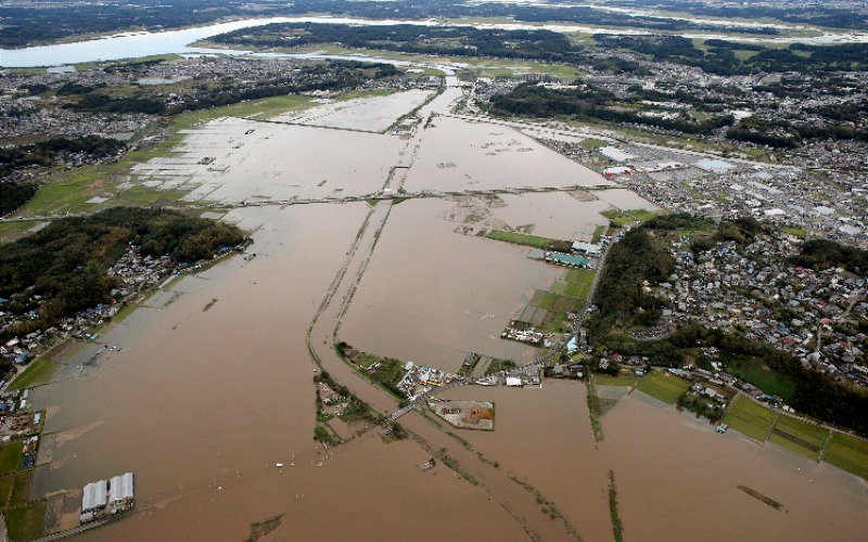 Flood, mudslides from strong rain in Japan kill at least 7