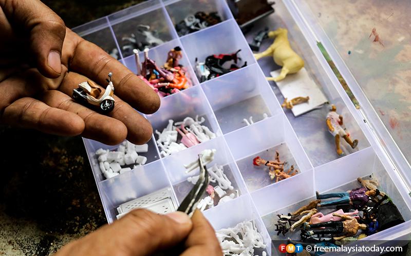 12) Eddie Putera - Miniature Diorama Artist - Hulu Langat - 11112019 - FMT