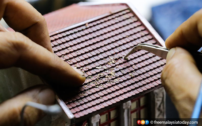 14) Eddie Putera - Miniature Diorama Artist - Hulu Langat - 11112019 - FMT