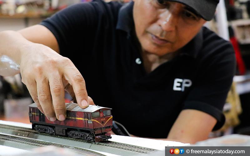 15) Eddie Putera - Miniature Diorama Artist - Hulu Langat - 11112019 - FMT