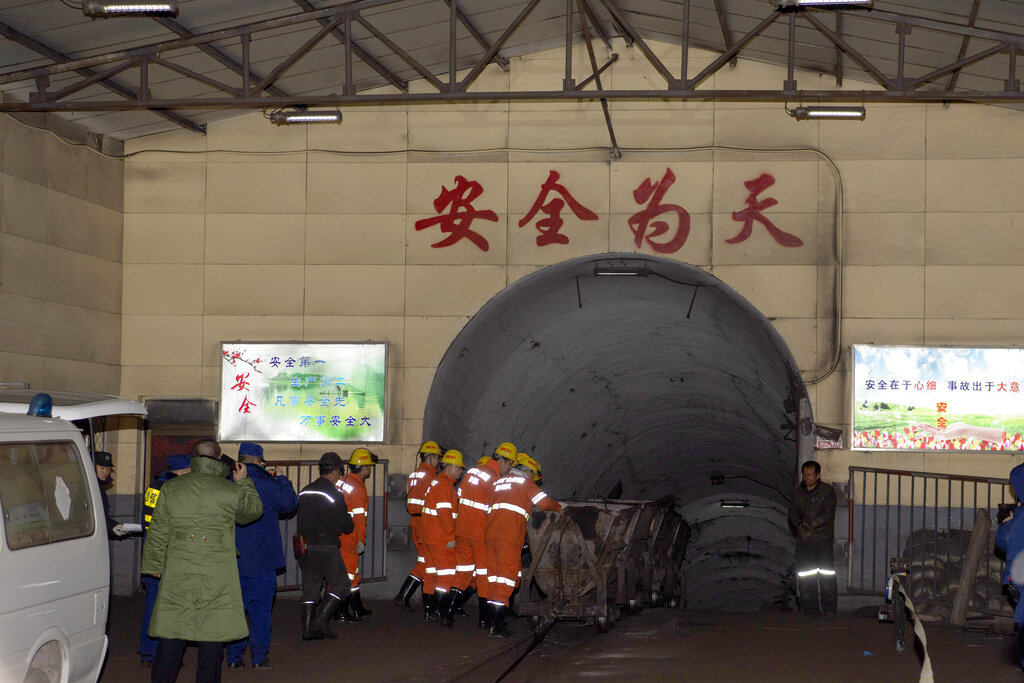 China: 14 Dead, 2 Trapped Following Gas Outburst In Coal Mine