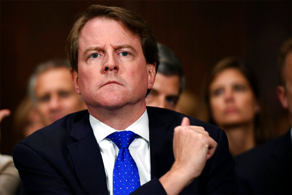 Trump administration wants to put order for McGahn testimony on hold