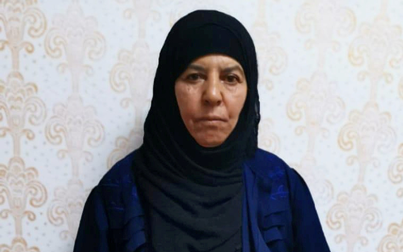 Turkey captures sister of dead Daesh leader Baghdadi in Syria